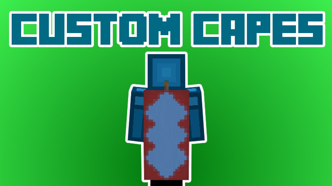 CUSTOM CAPES in Minecraft 1 8! NO MODS!