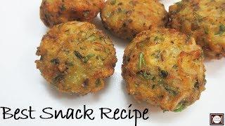 मात्र 20 मिनट में बनाये जबरदस्त नाश्ता | Aloo Suji Cutlet | Aloo Snacks Recipe | Suji Cutlet Recipe