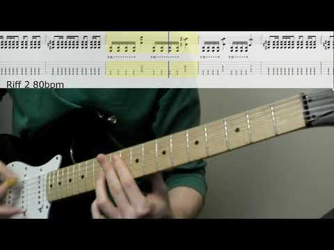 System Of A Down - Aerials: Guitar Lesson with Rolling Tabs