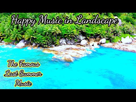 Happy Music in Landscape, Good Morning Music, Mind Refreshment Music, Stress relief Music, QHD 1440p