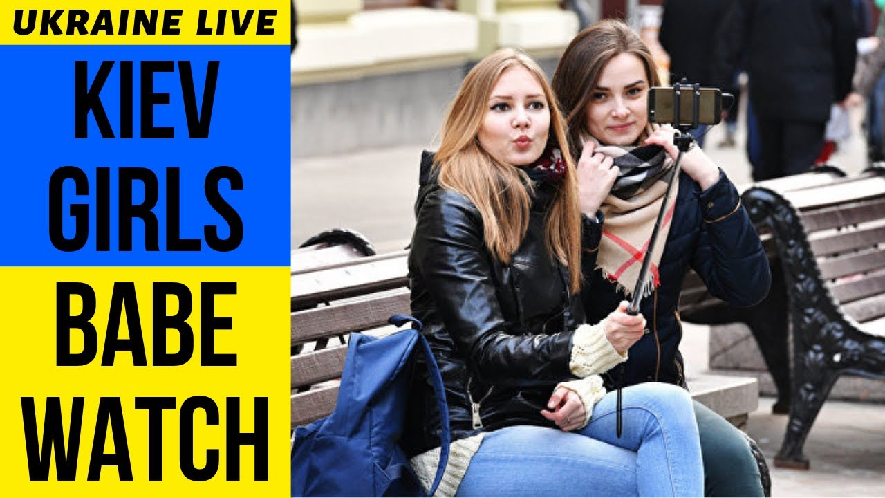 Kiev Ladies Babe Watch LIVE, Khreshchatyk Avenue, Ukraine 2019