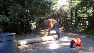 Tiki Carving / Driftwood