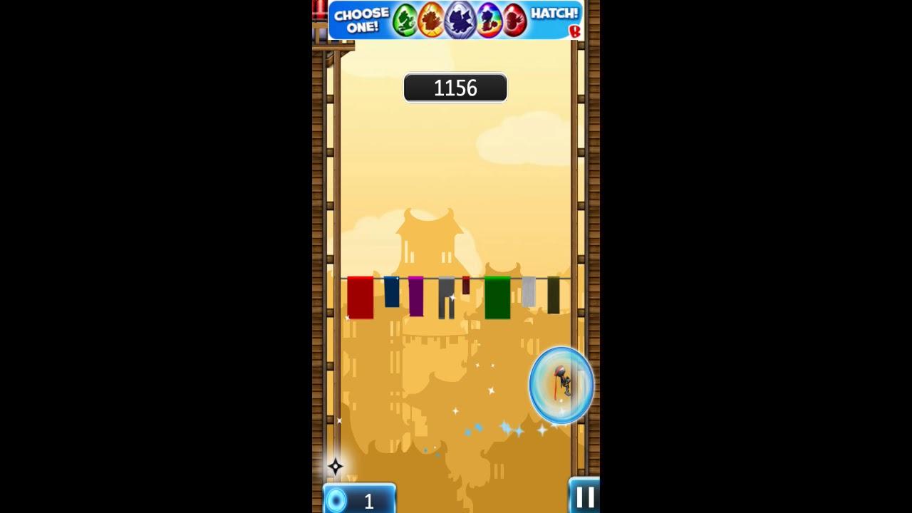 Ninja Jump Game Play Walk Through Youtube