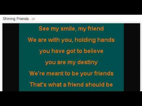 SHINING FRIENDS -KARAOKE- FIONA FUNG