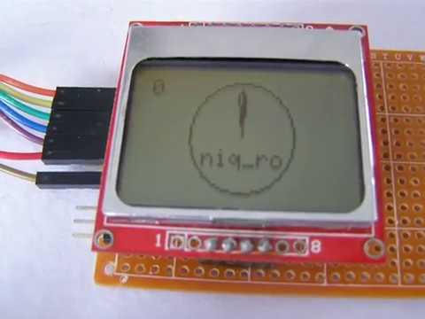 Adafruit GFX library + Nokia 5110 LCD + niq_ro's sketch (IV)