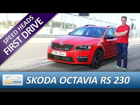 Skoda Octavia Combi RS 230 Test - Fahrbericht - Review (German)