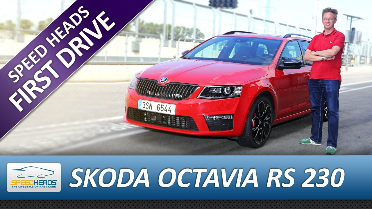 skoda octavia combi rs 230 test fahrbericht review. Black Bedroom Furniture Sets. Home Design Ideas