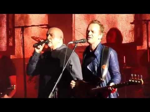Digging in the Dirt by Sting & Peter Gabriel (Live @ Hollywood Bowl 7/18)