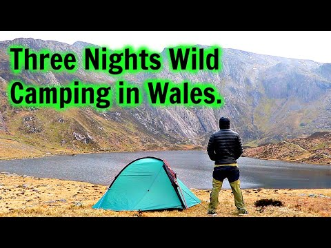 Three Nights Wild Camping In Wales