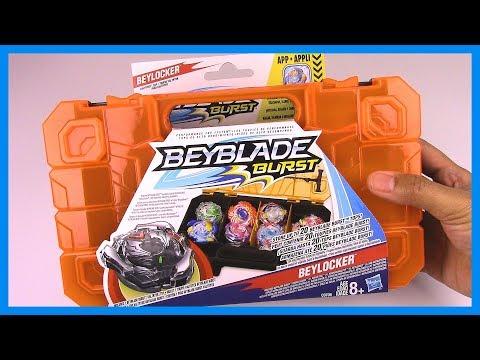 Beyblade Burst BEYLOCKER w/BLACK VALTRYEK Unboxing & Review!!