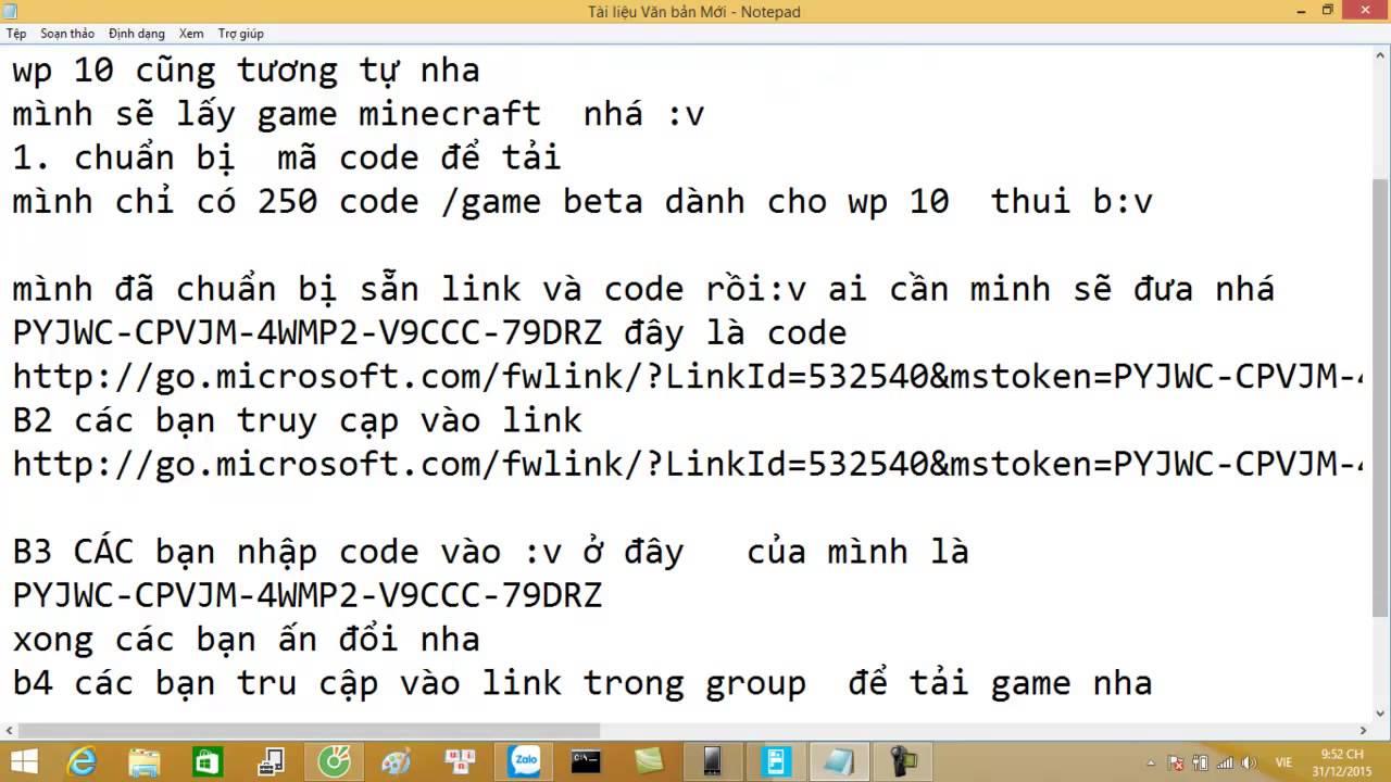 TẢI GAME BETA CHO WP 10