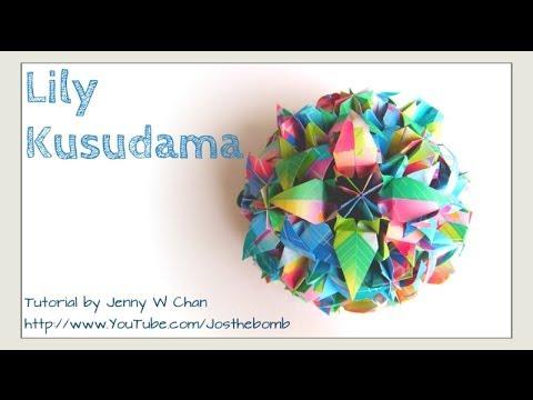 Aileen Edwin Origami: 3 Petal Origami Lily | 360x480