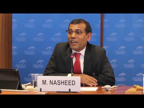 Mohamed Nasheed, Former President of the Maldives