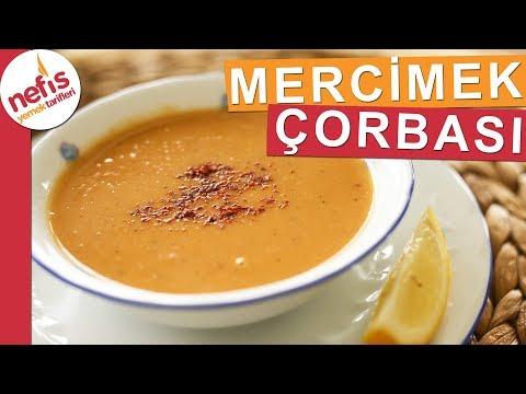 Tam Kıvamında Kırmızı Mercimek Çorbası - Muhteşem bir çorba - Nefis Yemek Tarifl