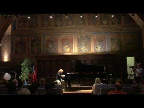 Ilana Vered plays Scarlatti's Sonatas and Chopin's Mazurkas at Music Fest Perugia 2017