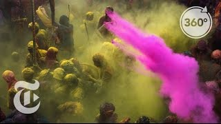 Happy Holi! Celebrating Spring in India   The Daily 360   The New York Times