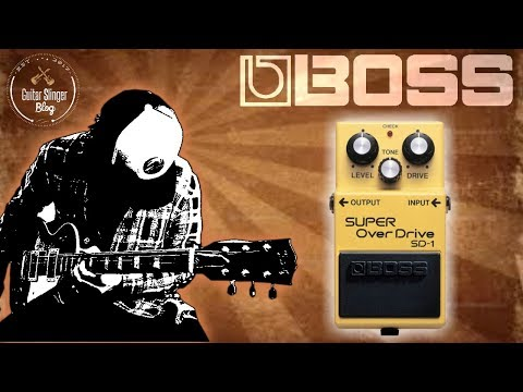 BOSS SD-1 Super Overdrive   Demo & Review by Dave Devlin