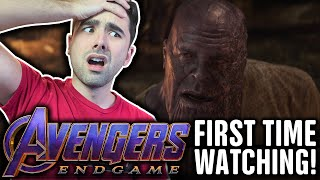WATCHING AVENGERS: ENDGAME FOR THE FIRST TIME!! ENDGAME (2019) MCU MOVIE REACTION PART 1
