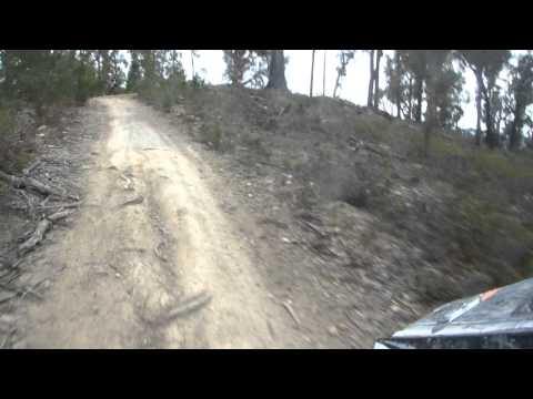 Rocky hill climb, Mathina Tasmania. Gasgas 300.MP4
