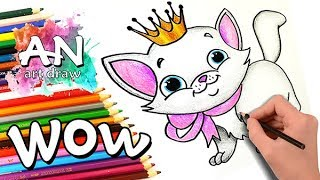 HOW TO DRAW LULU KATY | EASY DRAWING TUTORIAL FOR KIDS