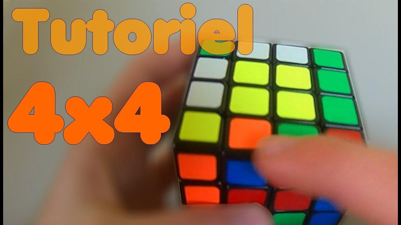 comment résoudre le rubik's cube 4x4 - méthode débutante - youtube