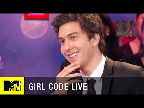 Is Nat Wolff a Dream Boyfriend?  Girl Code Live  MTV