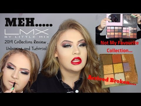LMX By Little Mix 2019 Collection UNBOXING, REVIEW & TUTORIAL - Elise Wheeler thumbnail