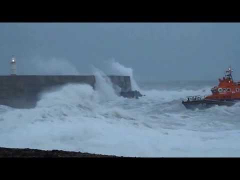 Newhaven RNLI lifeboat heroes