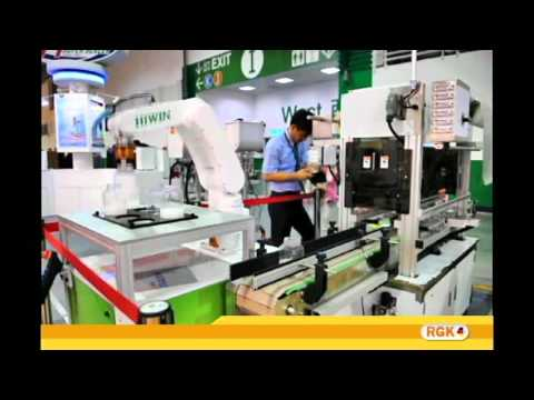 RGK-Sealer Machine in Taipei Taipei International Food Proce