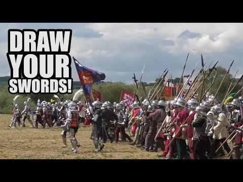 NOVA Combat at the Tewkesbury Medieval Festival + Battle!