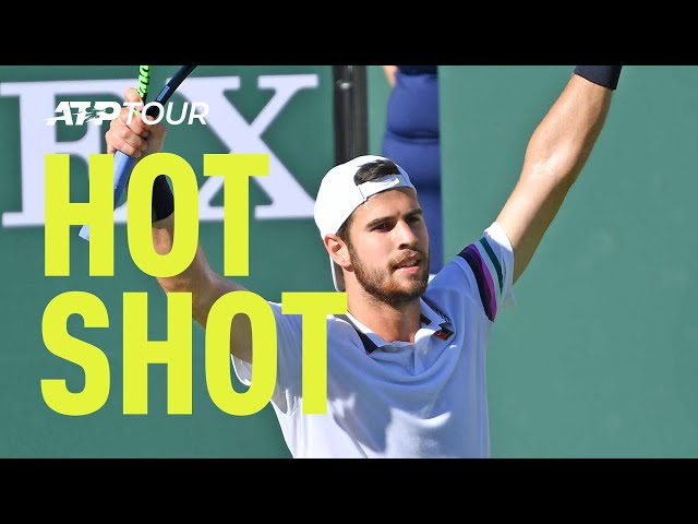 Hot Shot: Khachanov Does It All In Sensational Point Against Nadal Indian Wells 2019