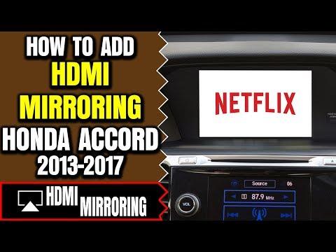 Honda Accord HDMI Port - Honda Accord DVD Video Interface, Honda Accord Smartphone Screen Mirroring