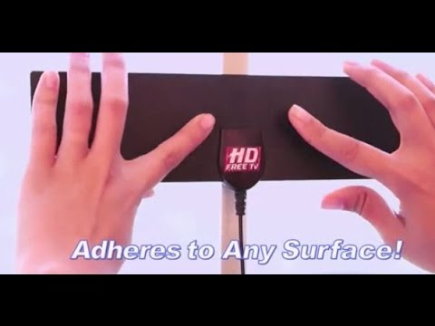 INDOOR HD TV ANTENNA AS SEEN ON TV REVIEW AND TEST