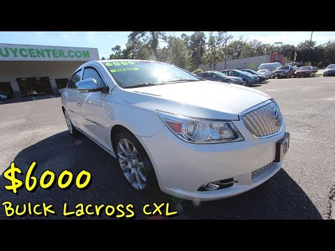 Here's the 2010 Buick LaCross CXL ( 8 Years Later Now $6000 Bucks ) For Sale Review