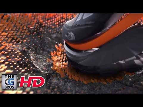 """CGI 3D/VFX Breakdown: """"The North Face - Xtrafoam"""" - by SHED"""