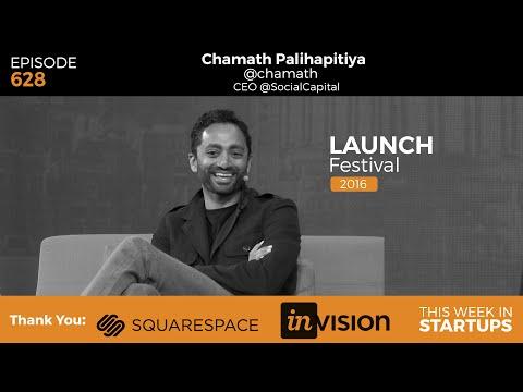 Chamath Palihapitiya on state of tech, politics, diversity, picking investors &our changing morality