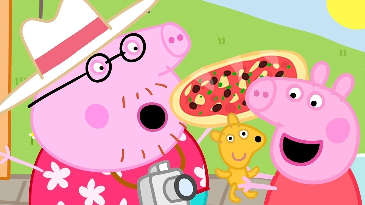 Peppa Pig Italiano 🍕 Viva La Pizza!  - Collezione Italiano - Cartoni Animati