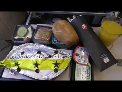 Airbus A321 Turkish Airlines full flight London Heathrow to Istambul