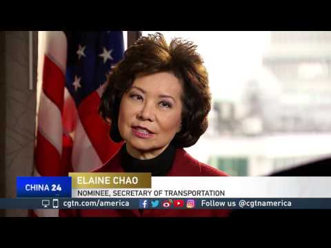 Elaine Chao discusses serving in the U.S. gov't, her family roots