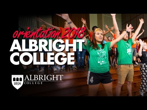 Starting A New Journey | Albright College Orientation 2018