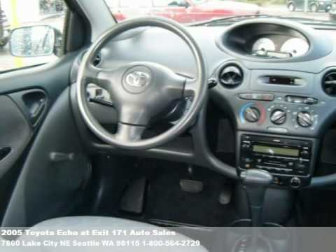 2005 Toyota Echo, $7800 at Exit 171 Auto Sales in Seattle ...