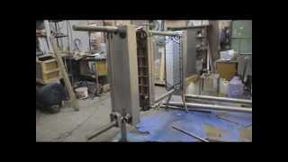 видео пластинчатая пастеризационно охладительная установка