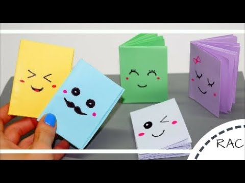 MINI NOTEBOOKS EASY KIDS CRAFT |IDEAS FOR KIDS| RECYCLED ARTS and CRAFTS-50