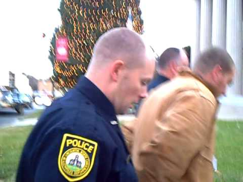 Michael Rhyne taken to jail