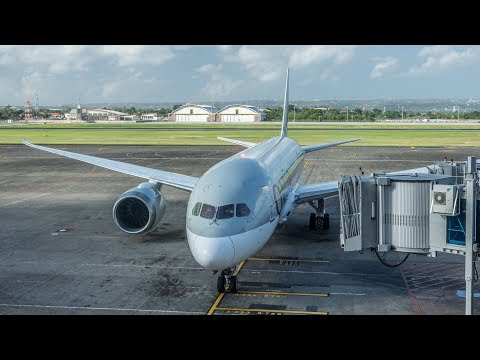 Qatar Airways Boeing 787-8 Dreamliner Denpasar - Doha Economy Class Flight Review