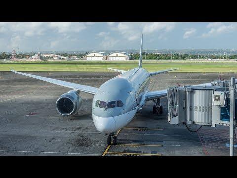 FLIGHT REVIEW   QATAR AIRWAYS   BOEING 787   DENPASAR-DOHA   ECONOMY CLASS