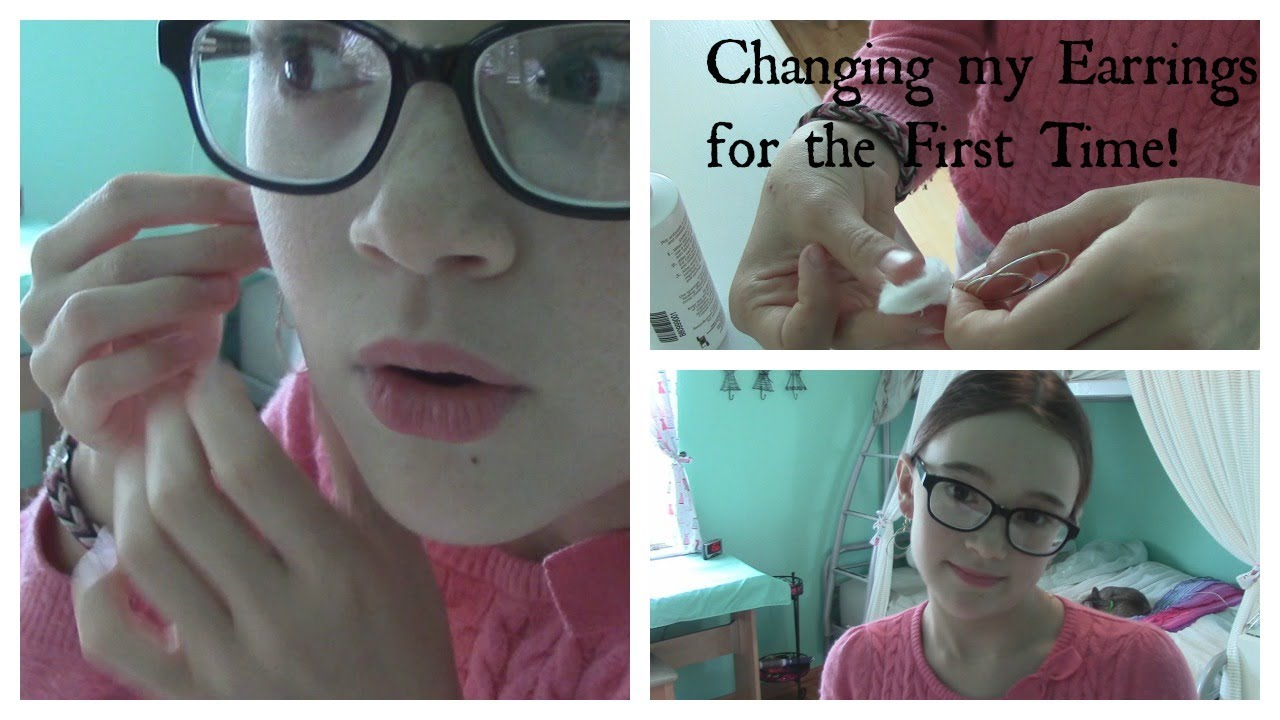 Changing My Earrings For The First Time Tips Fionas Fresh Face