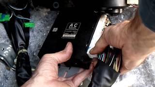 Subaru Forester Computer Removal