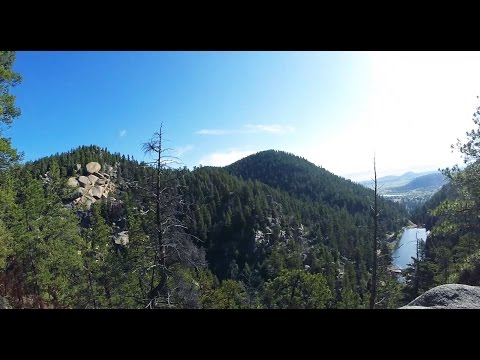 Ice Cave Creek, Colorado (Part 1) - The Hike In
