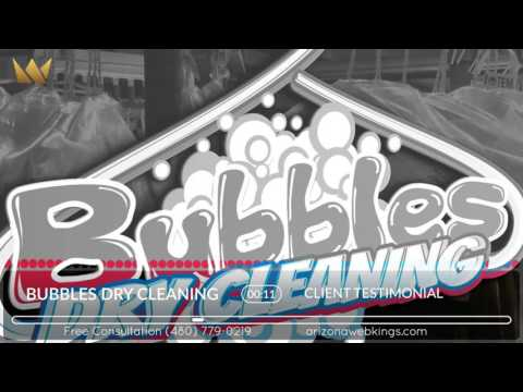 Bubbles Dry Cleaning - Arizona Web Kings